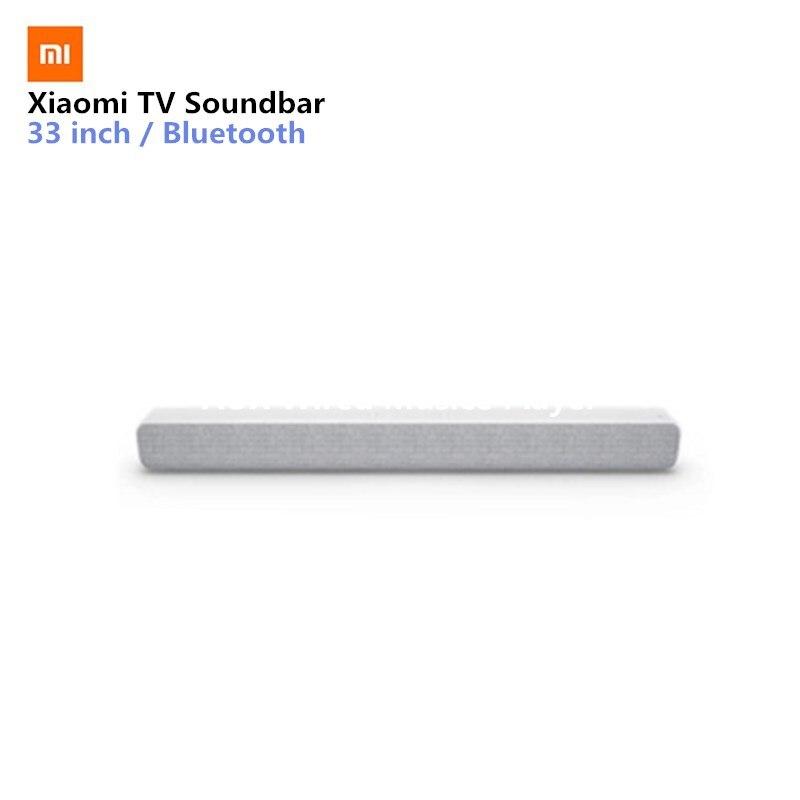 Xiaomi Беспроводной ТВ звук бар Bluetooth Динамик стильные ткани Поддержка Bluetooth воспроизведения оптический SPDIF AUX для дома в
