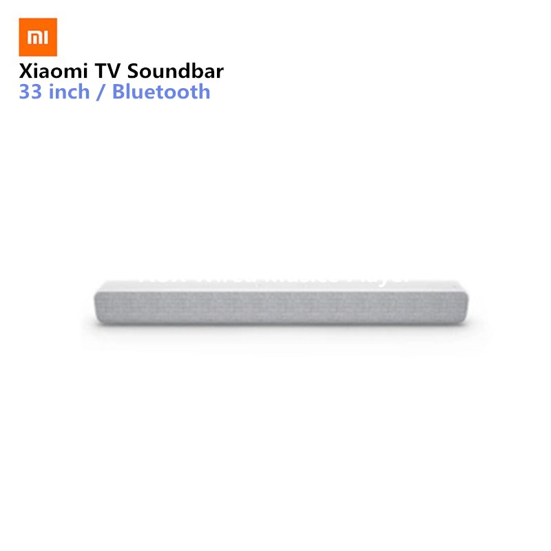 Xiaomi Wireless TV Soundbar Altoparlante Bluetooth Elegante Tessuto Sound bar Supporto di Riproduzione Bluetooth Ottico SPDIF AUX IN Per La Casa