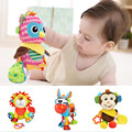 Baby Toys Rattles Mobiles Soft Cotton Infant Pram Stroller Bed Rattles Hanging Animal Plush Toys For 0-12 Months Newborns Babies