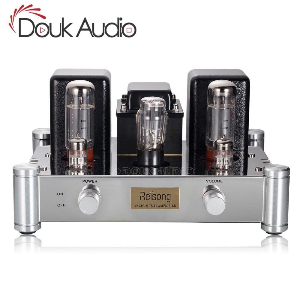 2018 Latest Douk Audio Hi End Stereo El34 Vacuum Tube Amplifier Power 35w Push Pull 2019 Nobsound 5z4p Hifi 20 Channel Single