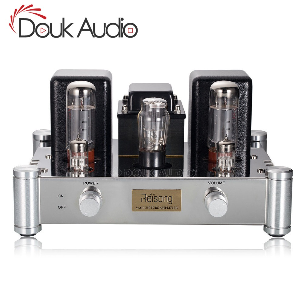2019 Nobsound Hi-end EL34 5Z4P Vacuum Tube Power Amplifier HiFi 2.0 Channel Single-ended Class A Stereo Amp 12W*2