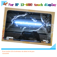 New 13.3 Laptop LCD Panel Kit for HP Spectre x360 13 4000 LCD Display Digitizer Kit 1920 * 1080 or 2560 * 1440