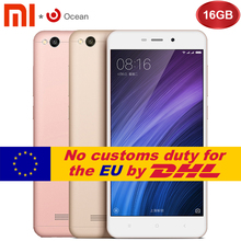 "Original Xiaomi Redmi 4A  2GB 16GB Mobile Phone Redmi 4A  2GB 16GB Snapdragon 425 Quad Core CPUROM 5.0"" 13.0MP"
