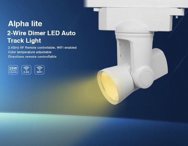 2,4G Milight WIFI 25 Watt 2 draht Dimmer Alpha Lite Schiene LED ...