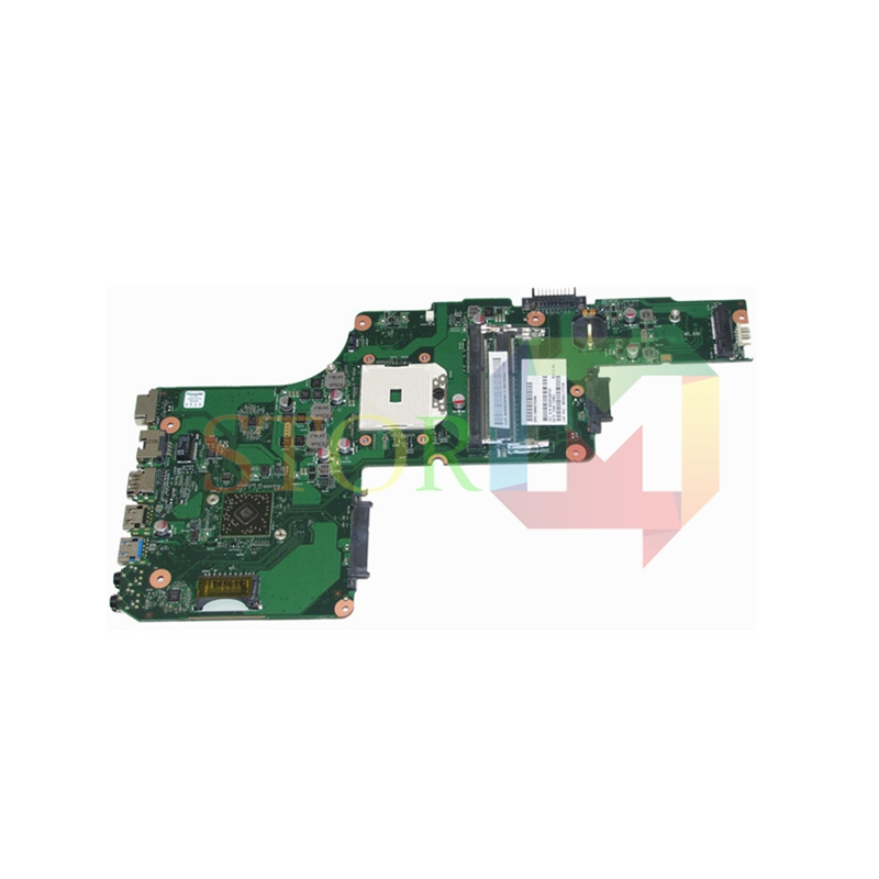 NOKOTION for toshiba satellite C855D laptop motherboard 15.6'' V000275280 1310A2492002 socket S1 DDR3 nokotion a000076380 laptop motherboard for toshiba satellite l655d l650d socket s1 ddr3 da0bl7mb6d0