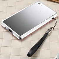For Sony Xperia Z5 Z5 Mini Luxury Aluminum Phone Cases Metal Bumper Protection Frame With Screws