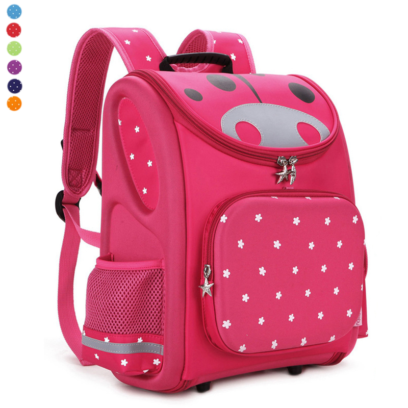 TOP Quality Children School Bag Orthopedic Backpack for Boys Girls Stars Kids Cartoon Mochila Infantil Kindergarten Primary 1-3 kindergarten new kids school backpack monster winx eva folded orthopedic baby school bags for boys and girls mochila infantil
