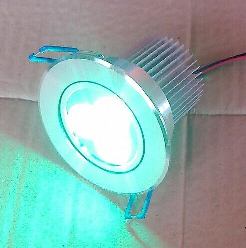 doprava zdarma do Severní Ameriky 4wires rgb 3v1 3X3W led stropní světlo DC24V 48pcs / Lot pro komerční osvětlení nebo panské sídla