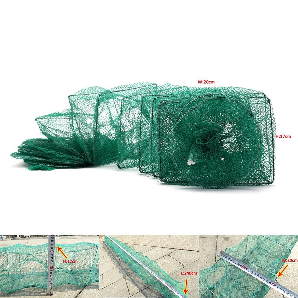 Portátil dobrável rede de pesca peixe net