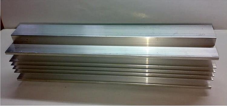305mm Promote Heatsink For Powerful 1200W Amplifier Board