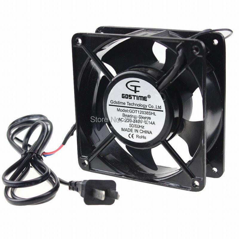 1 Piece Gdstime 120x120x38mm 12cm 220V 240V Computer Case AC Cooling Fan  120mm|ac cooling fan|fan 120mmcooling fan 120mm - AliExpresswww.aliexpress.com