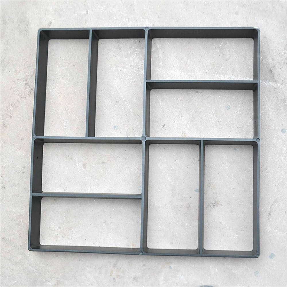 DIY Plastic Path Maker Mold Manually Paving Cement Brick Molds Garden Stone Road Concrete Molds Pavement For Garden Home
