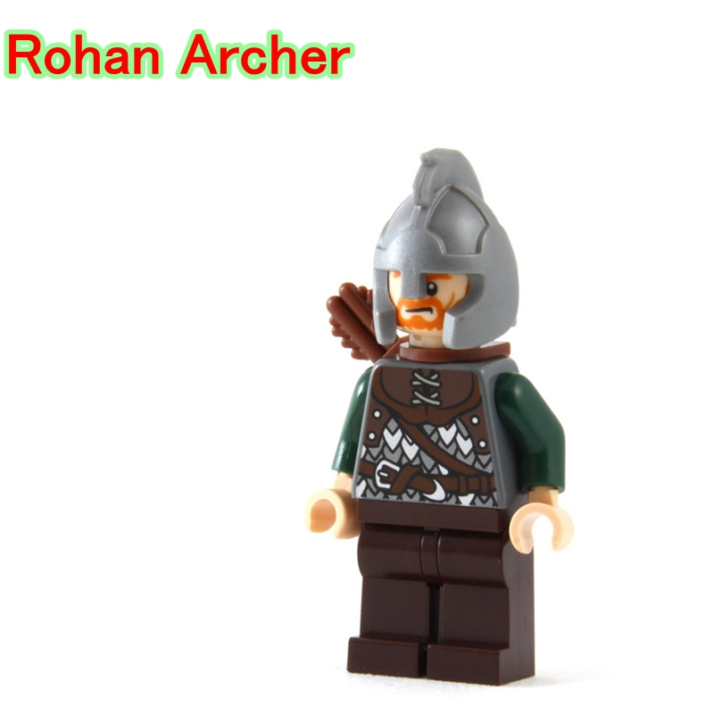 Blocks Toys & Hobbies Adaptable Rohan Archer Tiny Dolls Bricks Legoing Lord Of The Rings The Battle Of Helms Deep Building Blocks Gift Toys For Children Pg503 Aromatic Character And Agreeable Taste