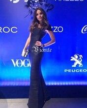Free Shipping! Elegant Fashion Square Neck Oil Print Embellished Gown HL Celebrity Maxi Long Bandage Dress