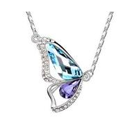 Butterfly Wing Austria crystal Necklace 1