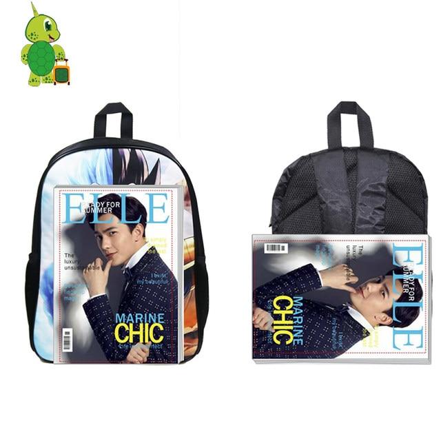 dcbd48457f12 Super Sonic Shadow Split Backpack for Teenagers Kids School Bags Mario Luigi  School Backpacks Boys Girls Students Book Bags
