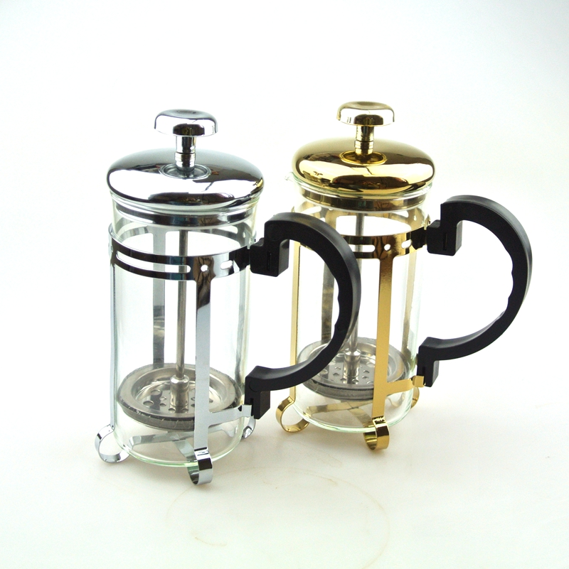 High End French Press Coffee Maker : New High Quality 1 PC Free Shipping Stainless Steel French Press Coffee Pot Coffee Filter ...