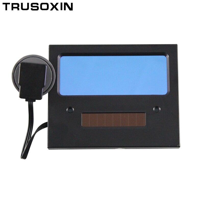 NOVA Bateria AAA + Energia Solar Automático Escurecimento TIG MIG MMA  Máscara de Solda Capacete Máscara Facial Óculos de Solda Olho máscara de  proteção do ... 623564a916