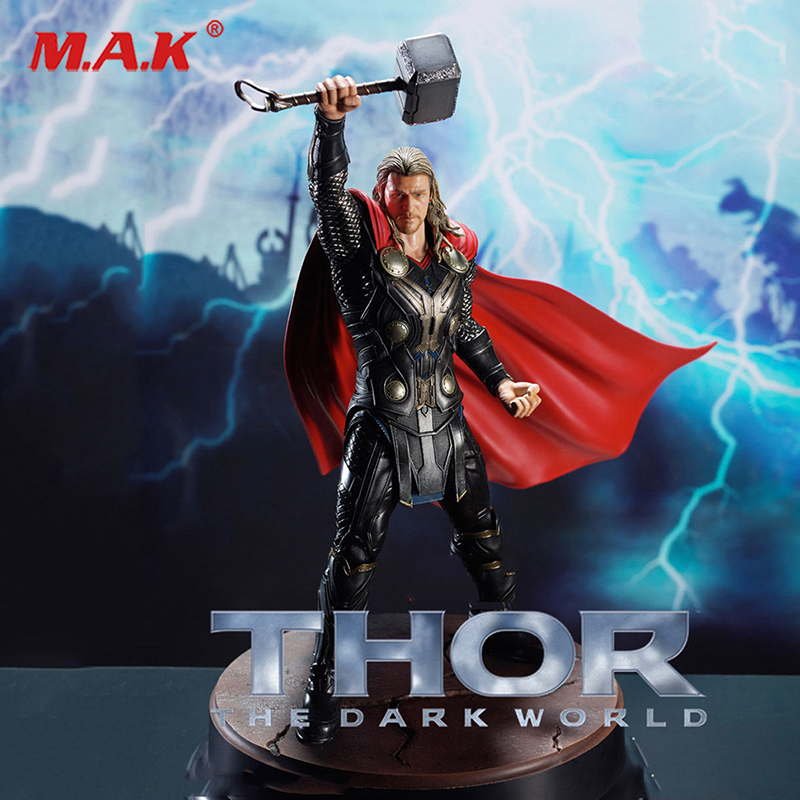 High Quality 1/9 Dragon #<font><b>38120</b></font> Statue Thor Collectable Figure Hero Model Figure Toy Action Figure For Collections image