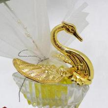 Plastic Swan Wedding Favor & Gift Candy Box Sweet Boxes pack of 12