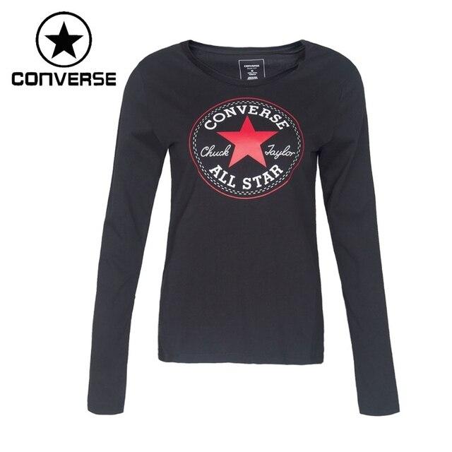3585f392dd05 Original New Arrival 2017 Converse Women s T-shirts Long sleeve Sportswear