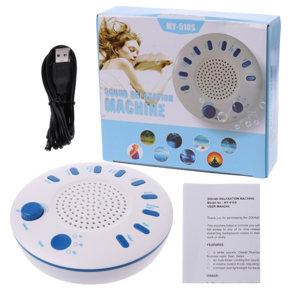 2019 New Sleep White Noise Machine Portable Sound Therapy
