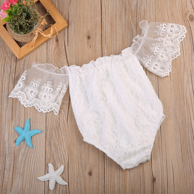 Infant Baby Girls Floral Romper Summer Costumes