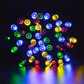 lighting string Holiday 10M 100 LED Solar Lamps String Christmas Wreaths Wedding Decoration Light  l7110