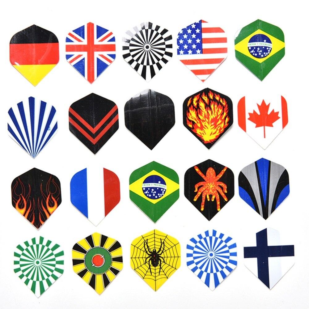 60 Pcs/lot New Professional Mixed Types Darts Flights Nice Flight Pack Tools Sets Wholesale