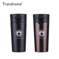 Transhome Stainless Steel Thermocup Coffee Mugs And Cups Fashion Insulation Bottle Travel Mug Vacuum Flasks Thermols
