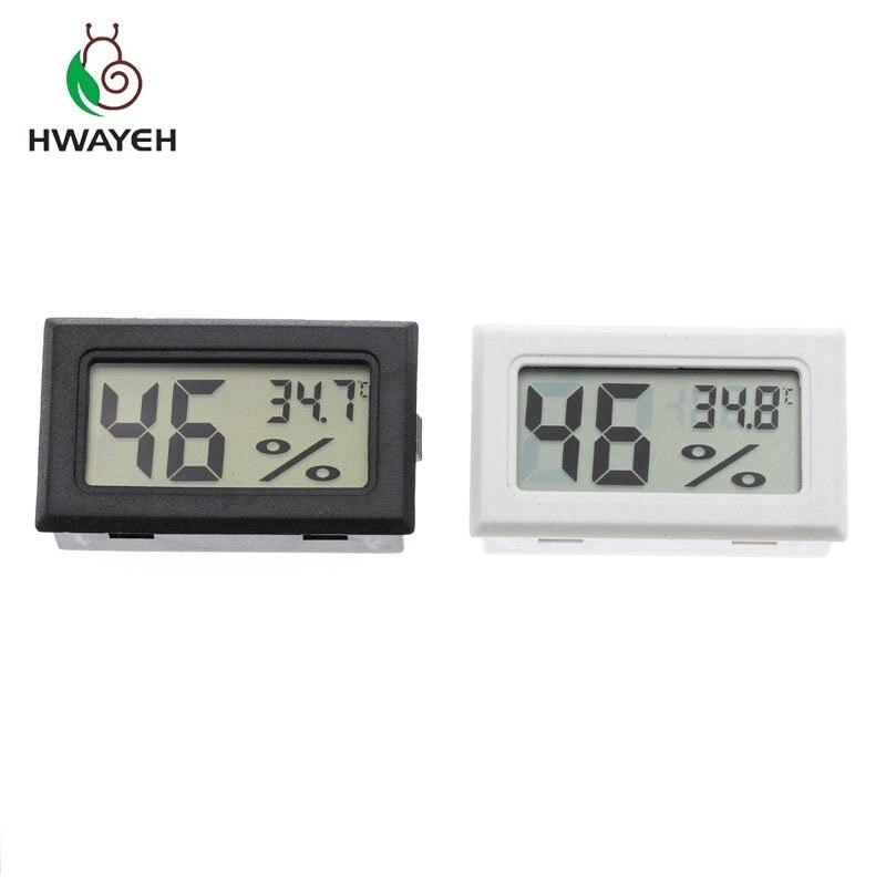 1 Stücke Mini Digital Lcd Indoor Bequem Temperatur Sensor Feuchtigkeit Meter Thermometer Hygrometer Gauge