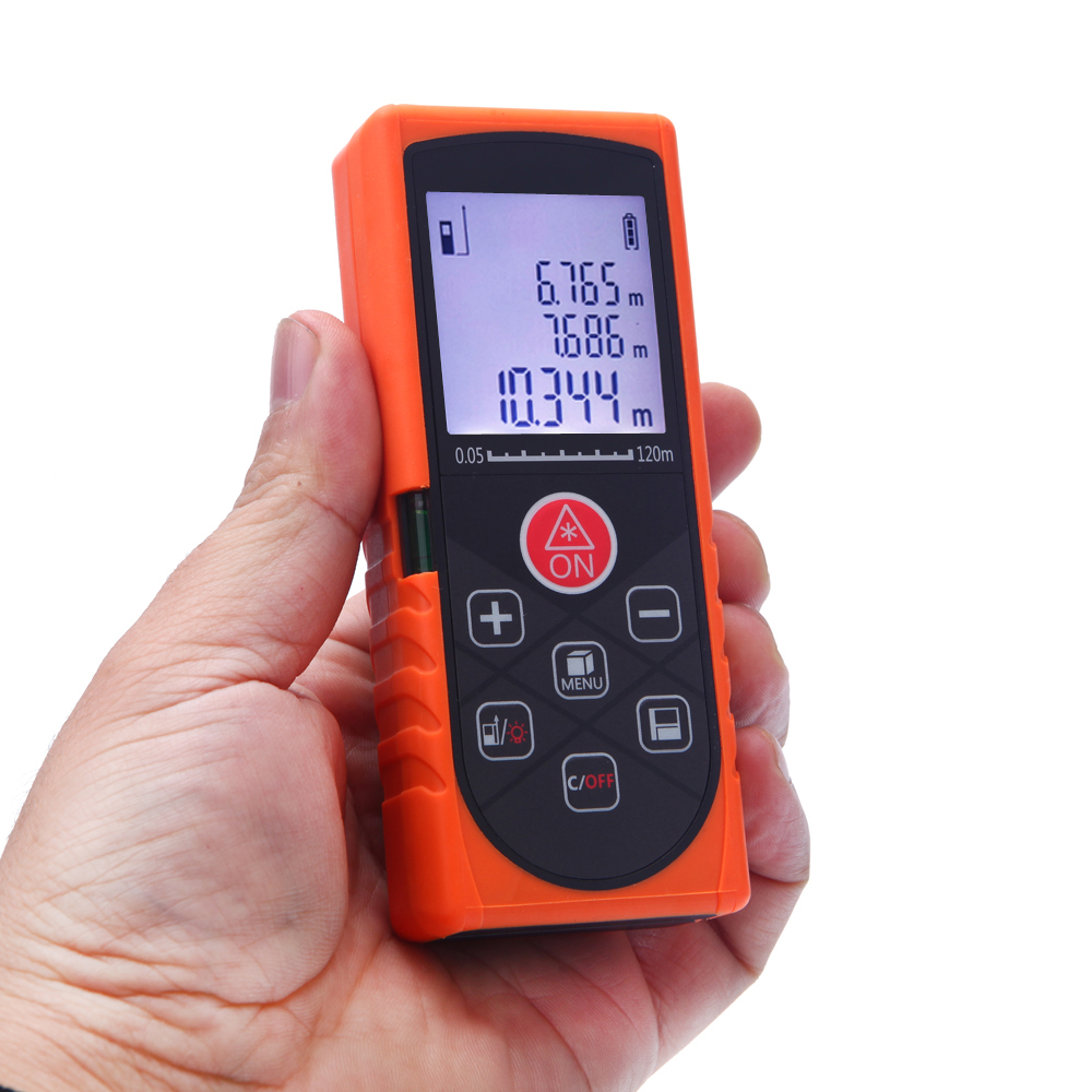 ФОТО New 120m laser distance meter laser rangefinder accuracy 2mm Maximum measuring distance 120m KXL-Q120