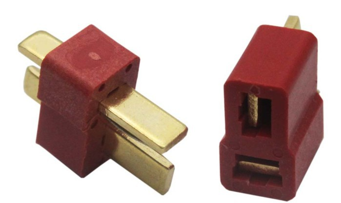 Freeshipping T Plug 5 Pairs LOT Male Female for the battery