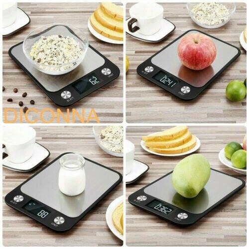 Электронные кухонные весы с ЖК-дисплеем, 10 кг/1 г-4
