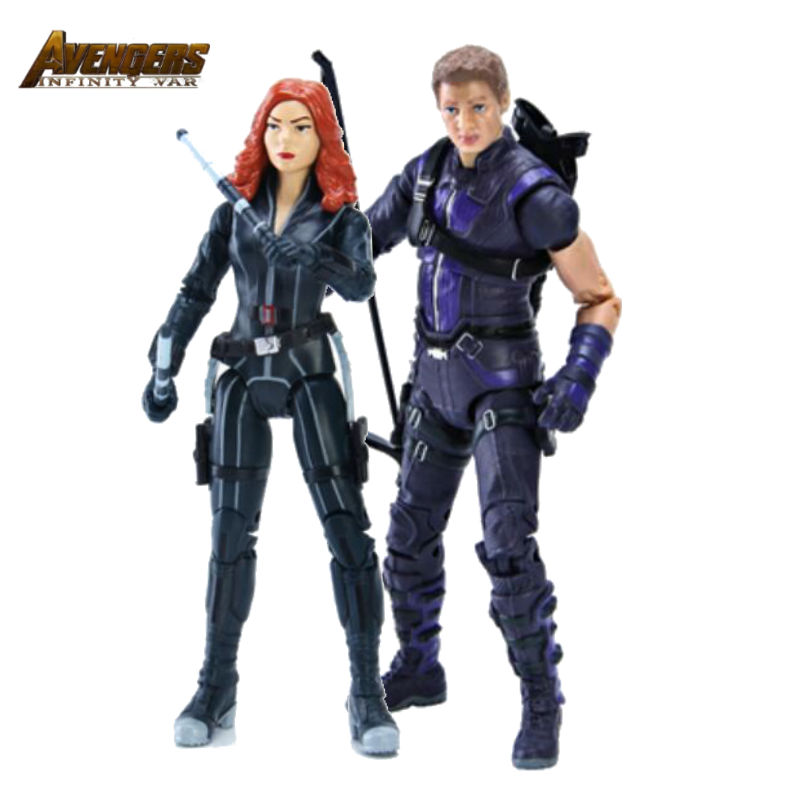 Action Figures Toys Games Black Widow Natasha Romanoff Shf