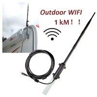 Outdoor Wifi Receiver 2 4Ghz 150Mbps USB Wireless Adapter 1W High Power 13dBi Antenna 1 5km