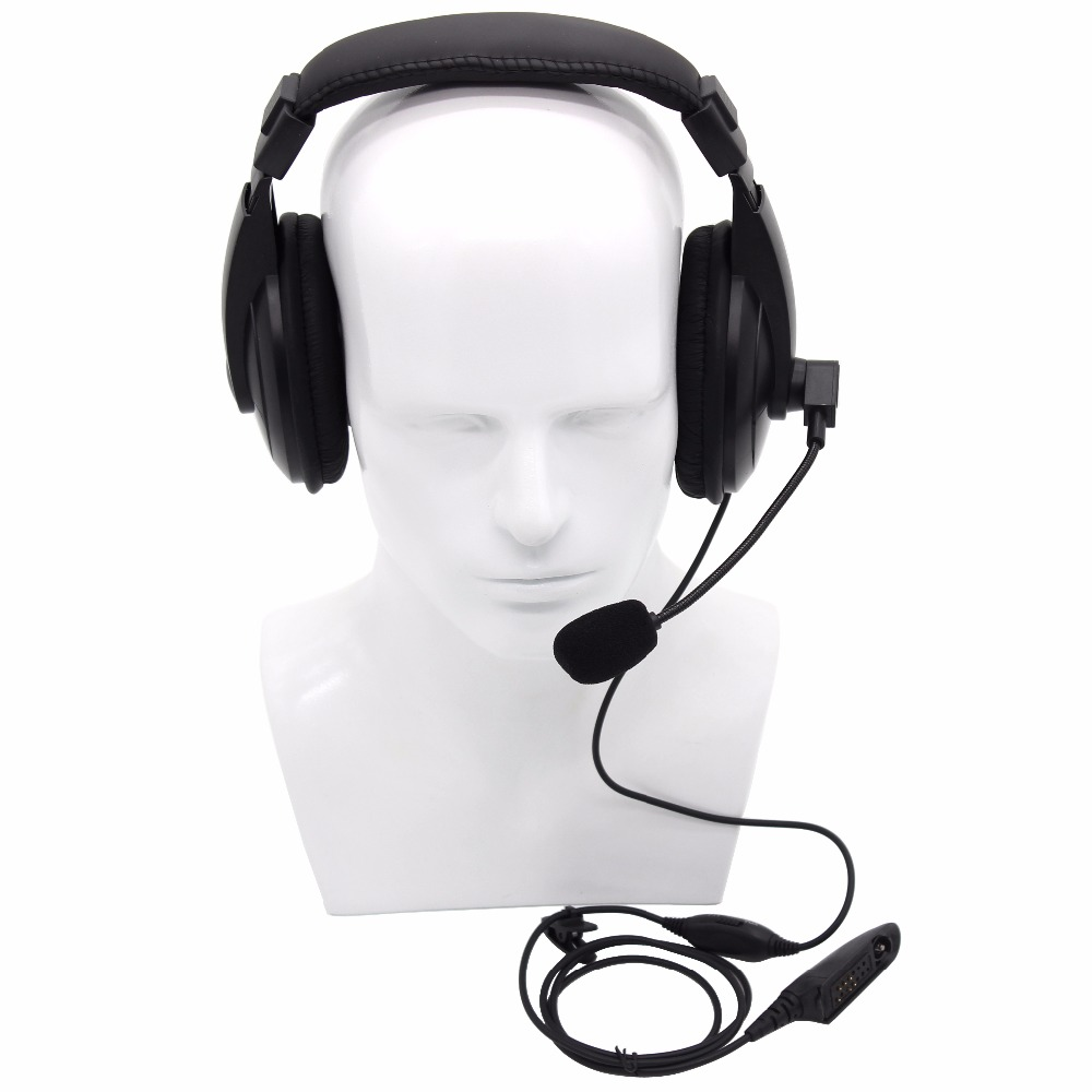 bilder für Multi-pin vox funktion kopfhörer ohrhörer mit ptt mikrofon für motorola gp328 gp340 gp380 ht750 ht1250 ptx760 walkie talkie