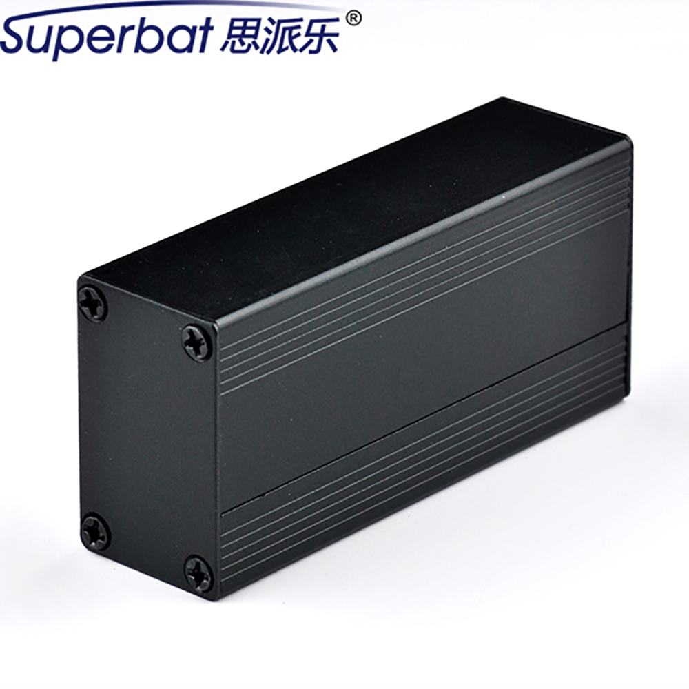 40*25*80mm DIY Aluminum Alloy Enclosure Junction Box Case 1.57″*0.98″*3.15» for PCB Power Amplifier HIFI Electronic Valve NEW