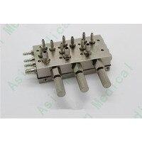 Dental chair 3 triple diaphragm valve repair material all stainless steel valve accessories Toiletry Kits