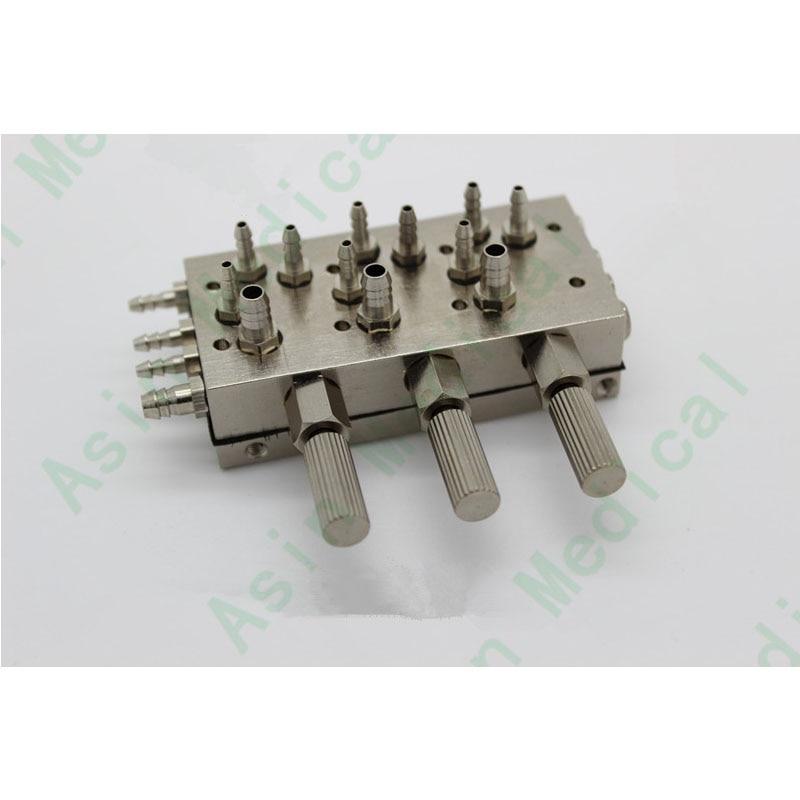 steel chair accessories wheelchair measurements dental 3 triple diaphragm valve repair material all stainless toiletry kits