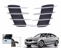 Car Side Air Vent Fender Cover Hole Intake Duct Flow Grille Decoration Sticker For Mercedes Benz