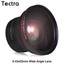 Objectif HD professionnel grand Angle 52MM 0,43x avec raie Macro pour Nikon D7100 D7000 D5500 D5300 D5200 D5100 D3300 D3200 D3100