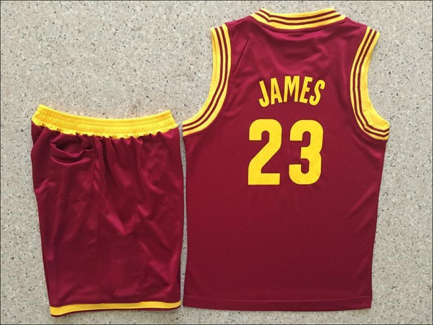 low priced 63f07 3044a New 2015 Kids/youth #23 Lebron James Basketball Jersey Kits ...