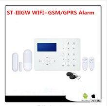 2018 New Wifi Alarm GSM Smart Home Automation Burglar Alarm Wifi Alarm System Control by webIe