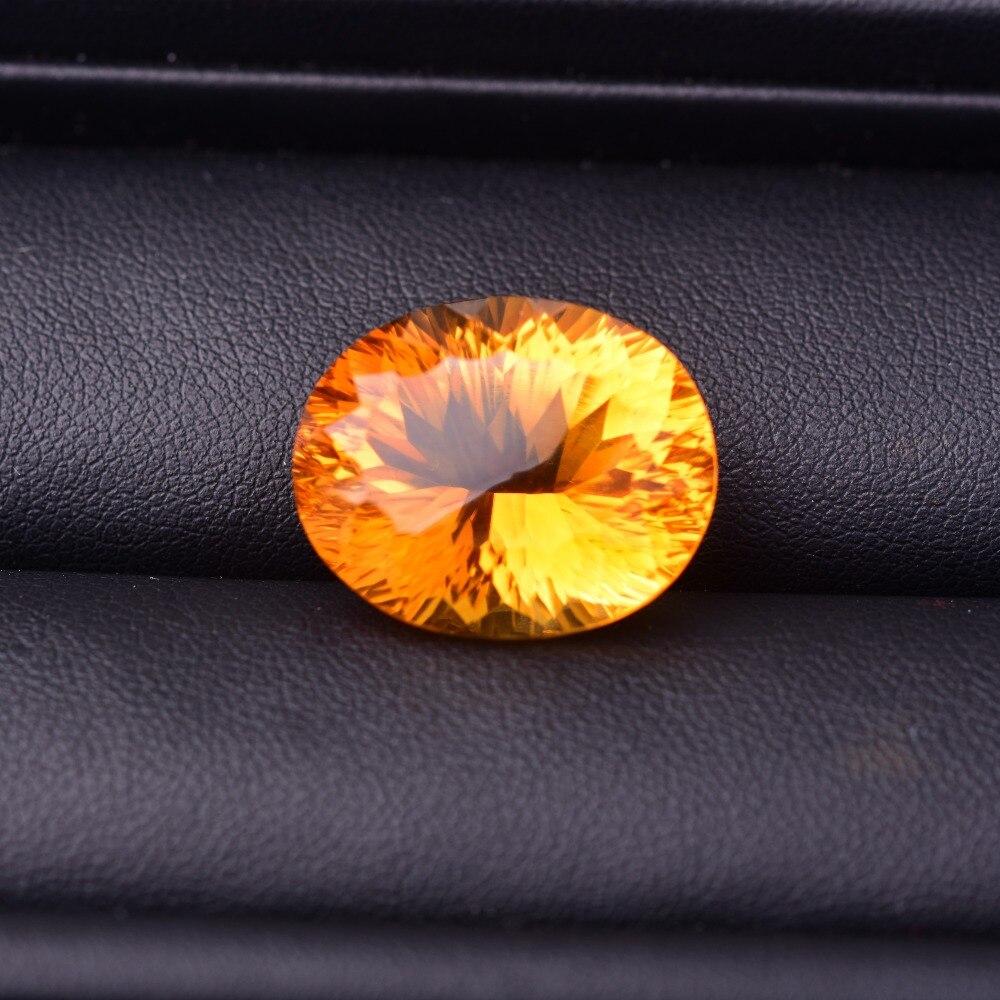 25.15ct цитрин 19,2*15,6*10,6 мм сверкающие и полупрозрачные безупречное качество драгоценных камней ...