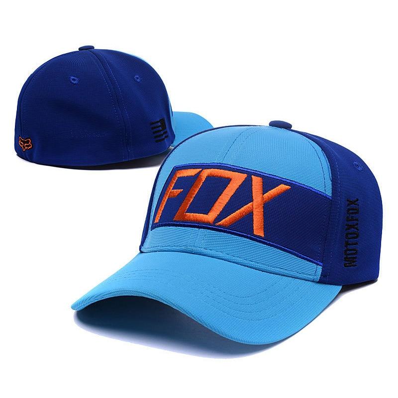 Fashion Fox Baseball Cap Women Men Motor Sports Snapback Hat Unisex Cartoon Pattern Embroidery Caps Hip Hop Hats CP0273 (6)