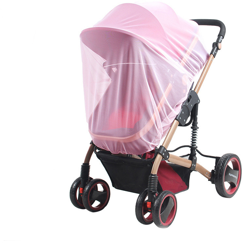 Newborn Infant Baby Stroller Crip Net Mosquito Net Encryption Color Full Mesh Cover Baby Stroller Accessories Insect Safety Net