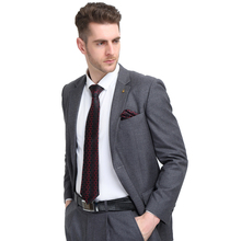 Men`s Classic Tie 100% Silk Novelty Geometric 30 Styles Tie & Hanky Cufflinks Sets