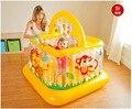 ENVÍO GRATIS 2016 Nuevo Estilo Cuna Corralitos valla cama barandilla Bebé niño inflable de espesamiento del niño del bebé de juguete de regalo