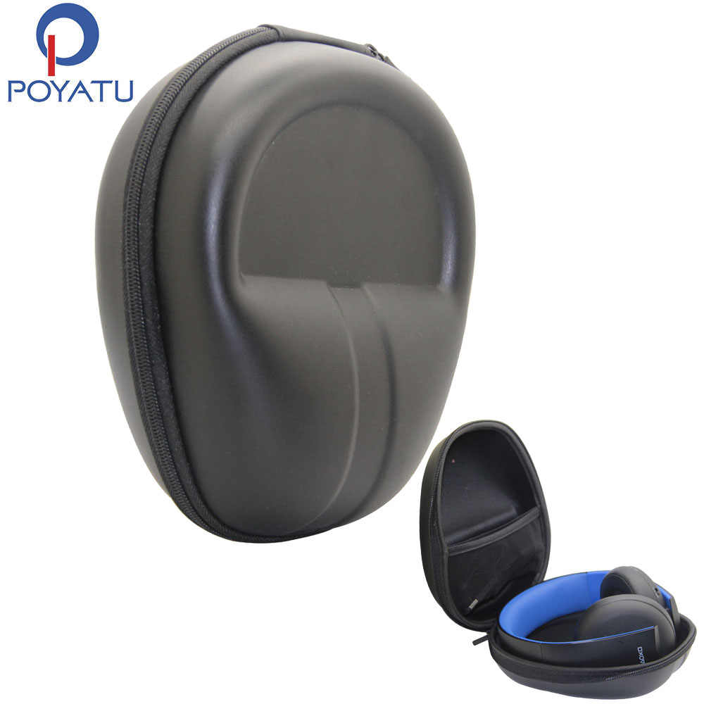 Poyatu Headphones Case Hard For Sony Playstation Gold Wireless Stereo Headset Ps4 Gaming Headphone Carrying Case Storage Box Bag Headphone Carrying Case Headphone Caseheadphone Case Hard Aliexpress